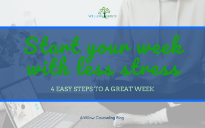 4 Ways to Start Off Your Week with Less Stress